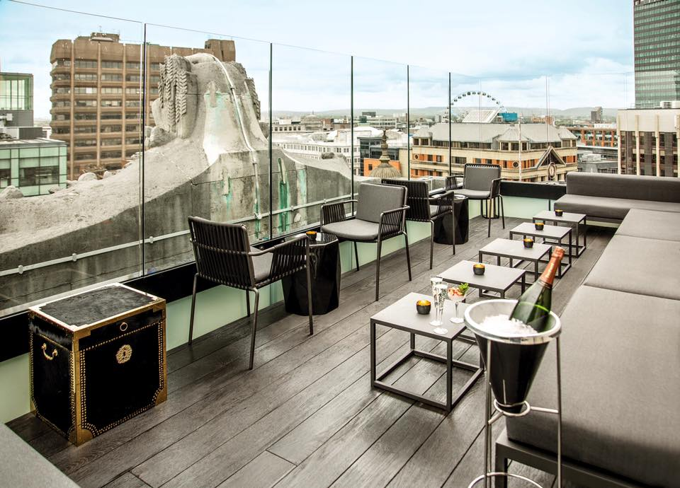 top 10 rooftop and top floor bars in manchester i love