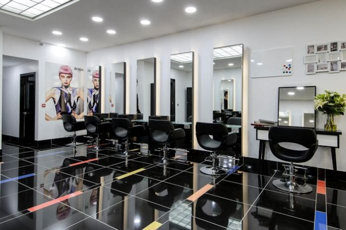 ... RUSH to visit Manchester?s latest cutting edge hair and beauty salon