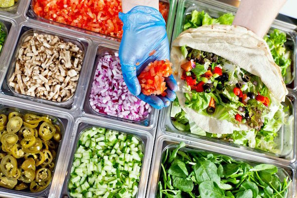 Pita Pit Manchester Salad