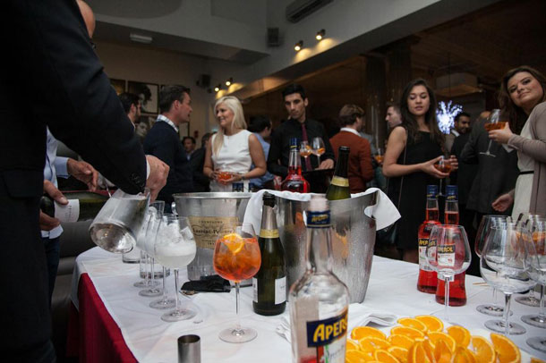 Aperol Spritz Launches in Manchester Italian Style I Love Manchester