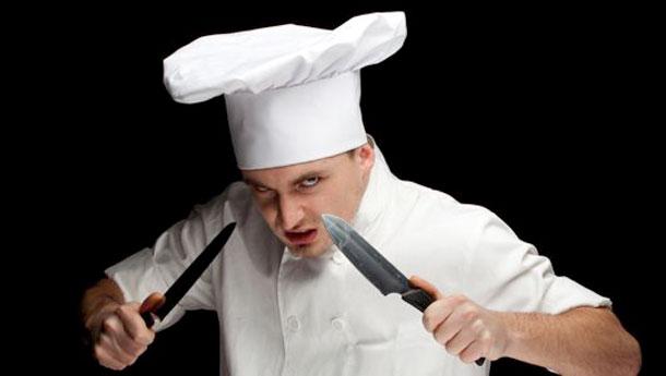 Angry Defensive Chef