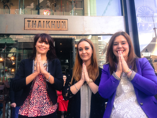 THAIKHUN Welcomes Manchester VIP's to Thailand I Love Manchester