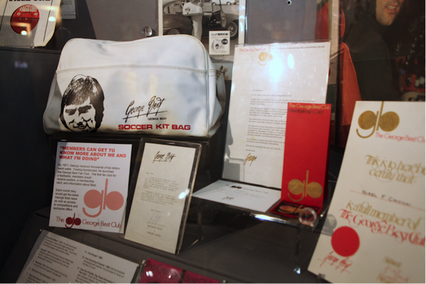 The Manchester United Museum Launches New George Best Exhibition I Love Manchester