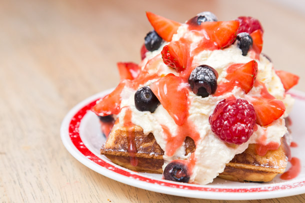 Splendid Sausage Company launch exclusive new waffle menu I Love Manchester