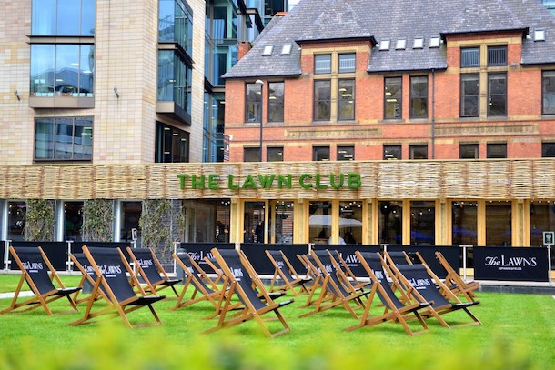 Thelawnclub Hardman Square Spinningfields Manchester