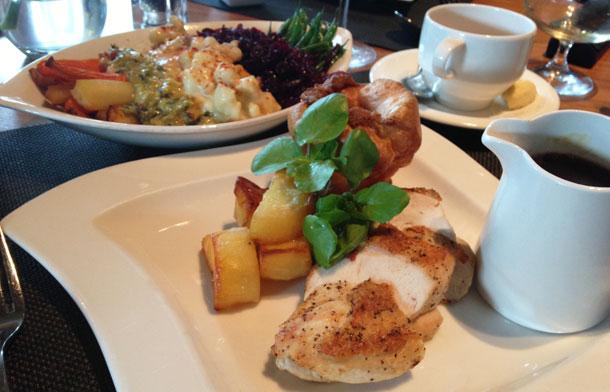 Sunday Lunch Hilton MCR