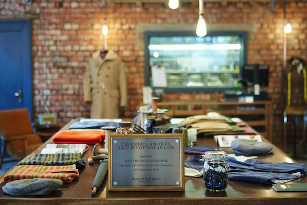 Private White V.C. Opens High-End Store at its Historic Manchester Factory I Love Manchester
