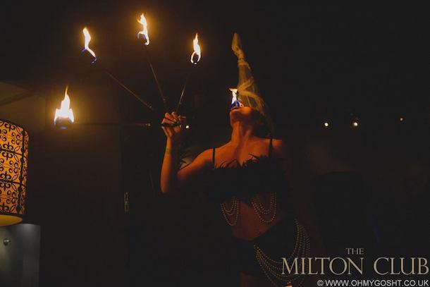 Themilton Club Fire Dancer