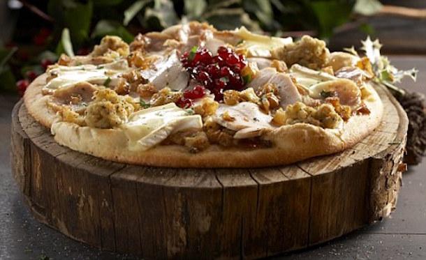 Christmas Dinner Pizza