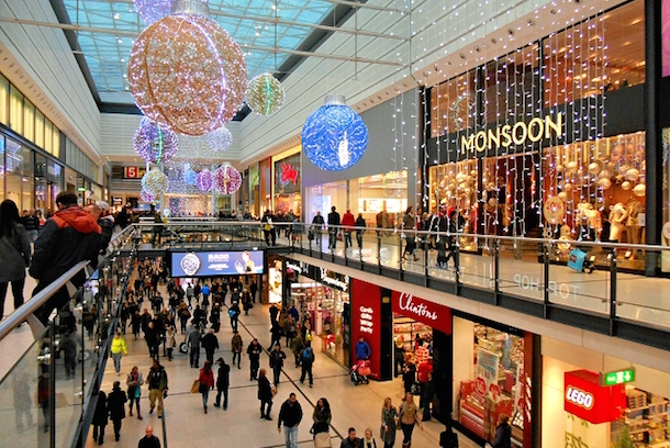 Manchester Arndale Christmas