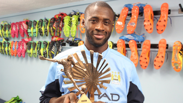 Yaya Toure Wins African Footballer Of The Year
