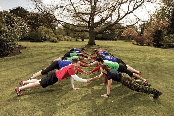 British Military Fitness Class 2