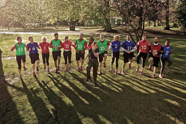 British Military Fitness Class 3