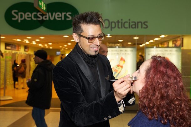 Specsavers Manchester Armand Maek Up Outside Of Store