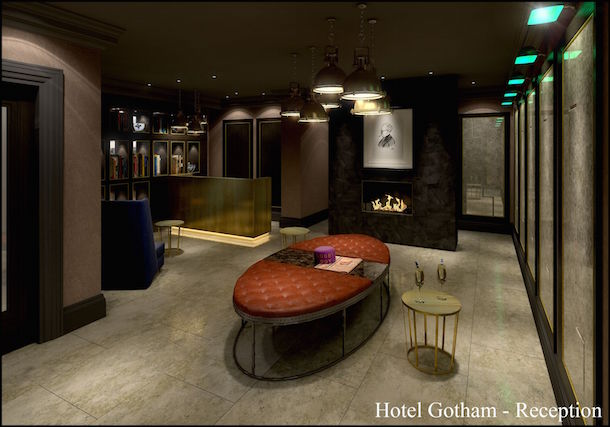 Hotel Gotham Manchester Reception