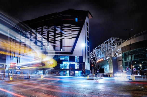 Hotel Football: the other Theatre of Dreams, NOW OPEN for business I Love Manchester