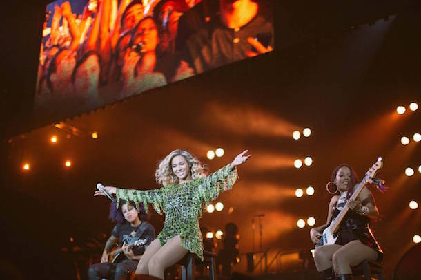 Beyonce Manchester Arena