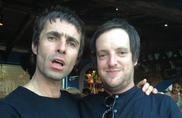 Liam Gallagher And Adam Jay