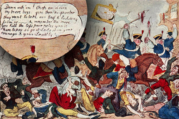 Massacre Of Peterloo