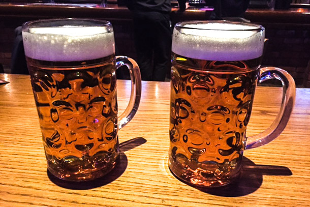REVIEW: The Bierkeller - not the wurst food in Manchester I Love Manchester