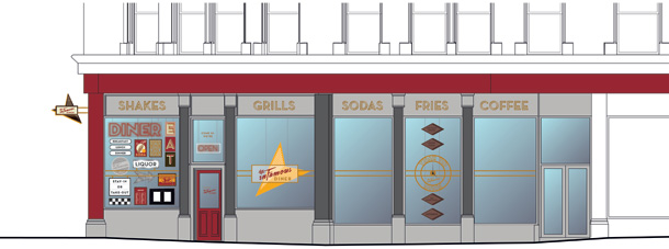 COMING SOON: 1950s American style diner to open in the Northern Quarter I Love Manchester