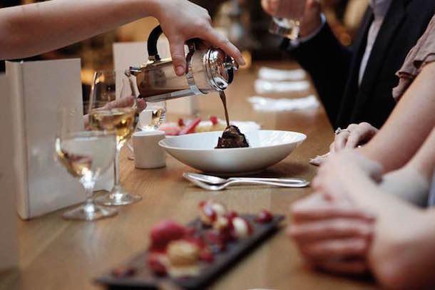 Dessert Bar Pic From Pollen Street Social