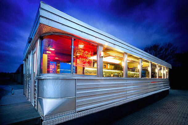 Steel Retro American Diner