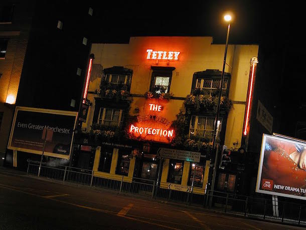 Four iconic Manchester pubs - but only two remain I Love Manchester