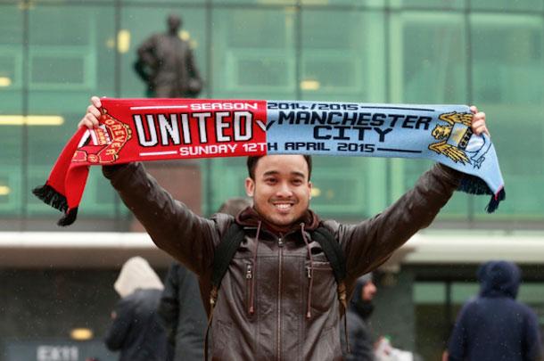 Manchester United V City Fan