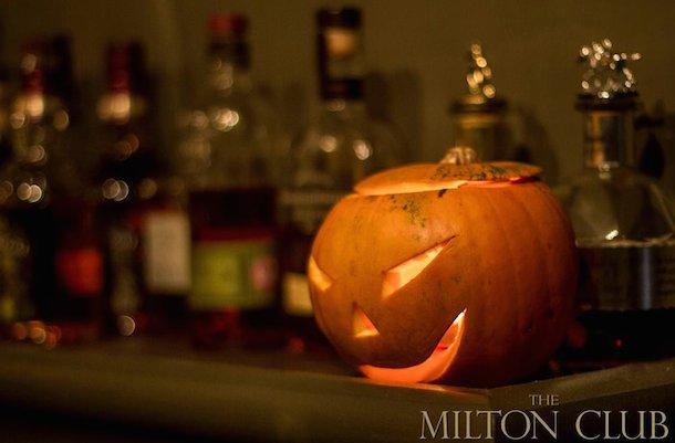 The Milton Club Halloween 1