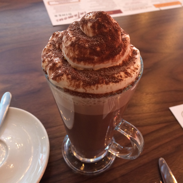 Infamous Diner Hot Chocolate