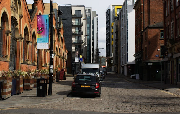 IN PICTURES: Manchester Then and Now I Love Manchester