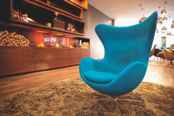Motel One Manchester Piccadilly Egg Chair