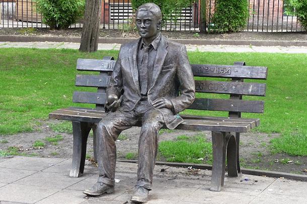 Alan Turing Statue Sackville