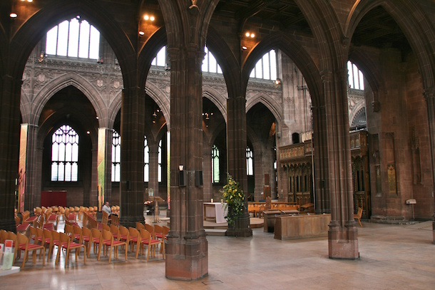 Manchester Cathedral Inside