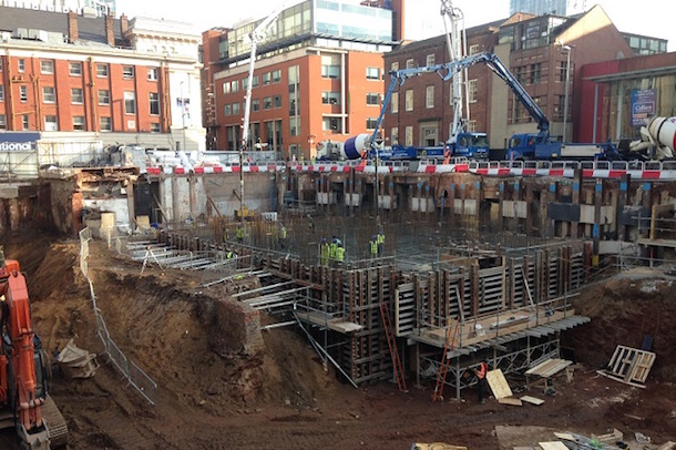 No1 Spinningfields Building Work