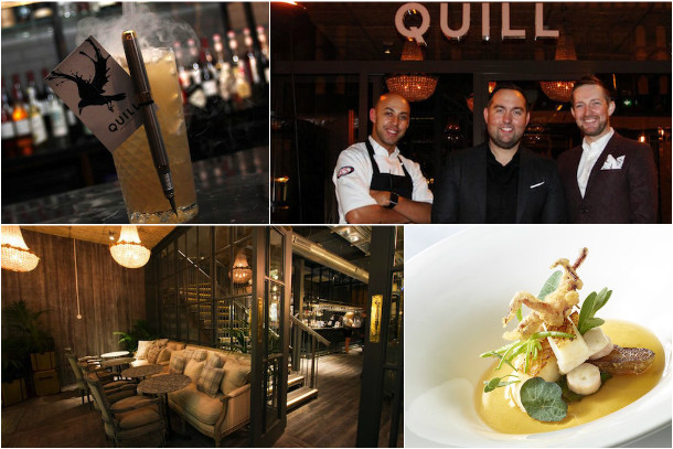 Quill Restaurant Opens A New Chapter For Fine Dining In Manchester Collage
