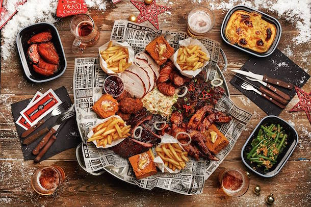 Reds True Barbecue Festive Feast