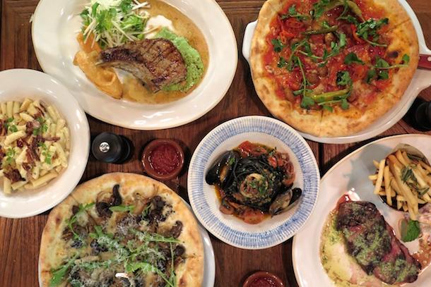 Jamies Italian Manchester Food