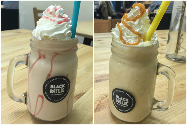 Black Milk Cereal Dive Milkshakes