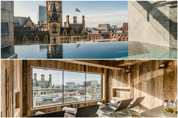 King St Townhouse Infinity Spa Pool And Relaxation Room