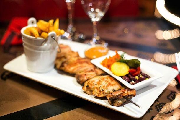 Baltic Cellar Bar Grill Manchester Chicken Sashlick