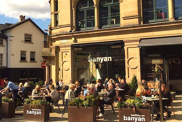 Banyan Manchester Corn Exchange Sunshine