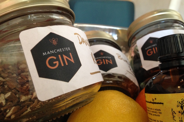 Manchester Gin Botanicals