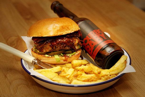BrewDog and Honest Burgers mate to make BrewBurger I Love Manchester