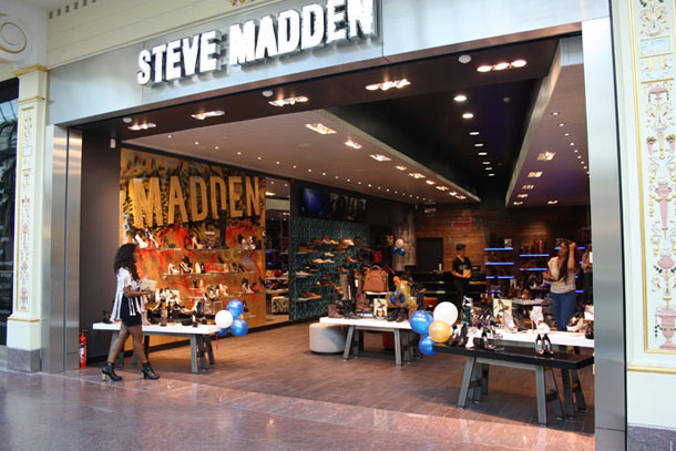 Steve Madden SS14 launch at flagship Manchester store I Love Manchester