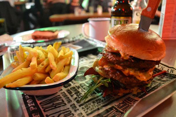 Manchester Burgers Redstruebarbecue