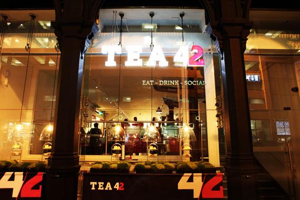 Tea42 Exterior