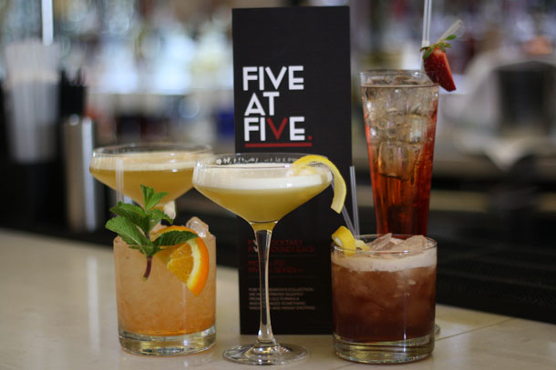 Rossorestaurant Five At Five Cocktails