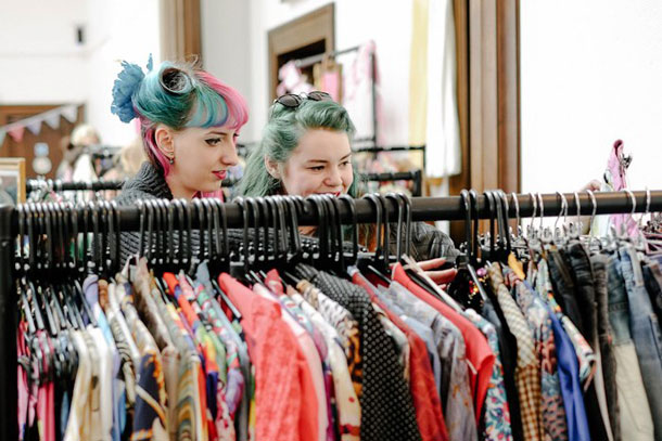 Judy's Affordable Vintage Fair at Victoria Warehouse Hotel I Love Manchester